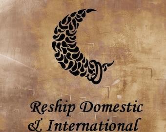 Reship Domestic & International