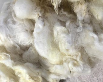 Special order for Jamie White Natural English Leicester Wool Fleece