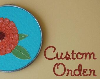 RESERVED custom order for Samantha