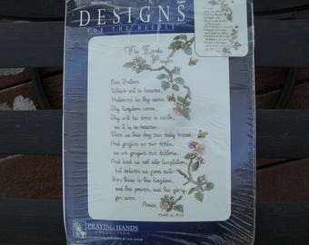 Counted Cross Stitch Embroider The Lords Prayer New kit