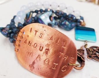 Copper Its All About the Magic bracelet
