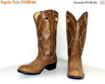 Vintage Acme brand cowboy boots size 4 D or Cowgirl size 5.5