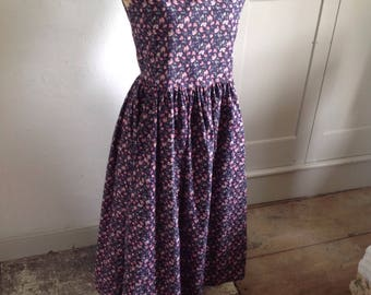 1980s Laura Ashley dress size 10 UK