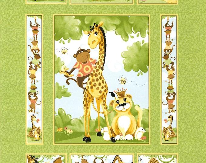 SUSYBEE BUDDIES QUILT, Children's Quilt Panel 36 x 43 inches