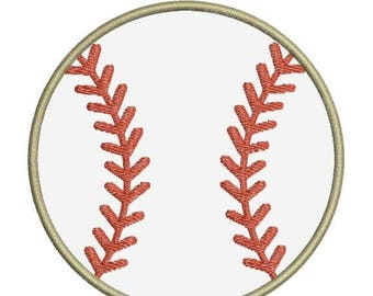 SALE 65% OFF Baseball Applique II Machine Embroidery Designs 4x4 & 5x7 Instant Download Sale