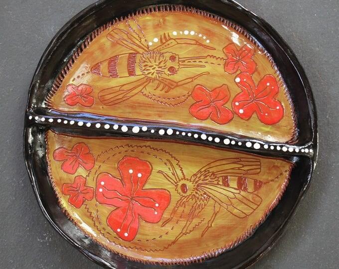 Honeybee Divided Plate