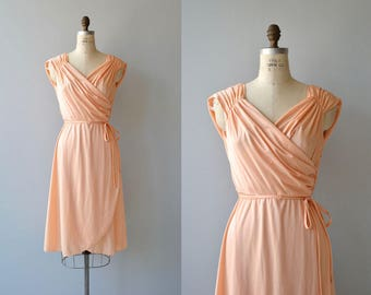 Persikka dress | vintage 1970s dress | greek goddess 70s dress