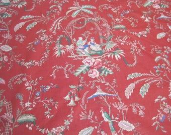 Vintage Deborah Danser Chinoise Fabric
