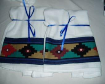 Southwestern Flour Sack Dish Towels