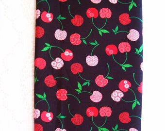 Plastic Bag Holder - Grocery Bag Holder and Dispenser - Kitchen Storage - Red Cherries