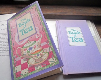 Vintage Tea Book ~ Peter Pauper Press ~ The Book Of Tea ~ 1989 ~ Kitchen Culinary Gift, Barista Gift, Tea Drinkers, Thoughtful Gift Book