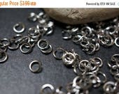 SUMMER CLEARANCE Stainless Steel Jump Rings 6mm x 1mm thick - 50 pcs