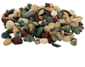 Save25% Terrarium stones-Pebbles-Soap Stones for jewelry-For Fairy Gardens-Wedding decor stones