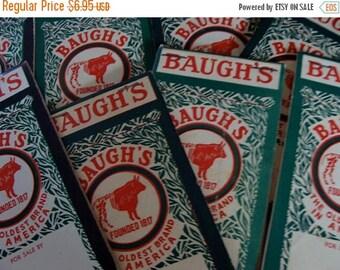 ONSALE One Vintage Baugh's Farmhouse Little Ledger Notepad