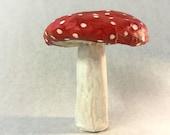 Mushroom! Paper Mache Sculpture!