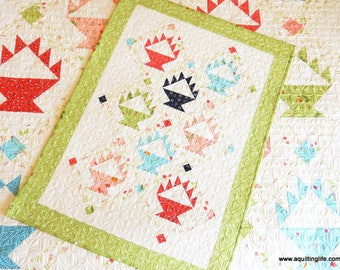 Berry Baskets Mini Quilt Pattern (Paper)