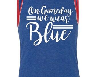 On gamedays we wear blue