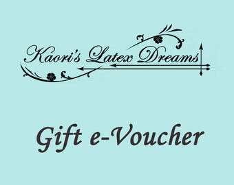 Gift Voucher Certificate select the amount E-gift card