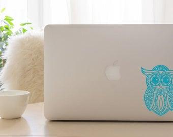 Owl Mandala Decal Etsy - Owl custom vinyl decals for car
