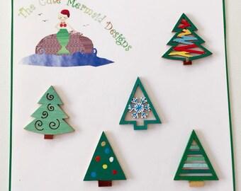 Winter Trees Decorations 2
