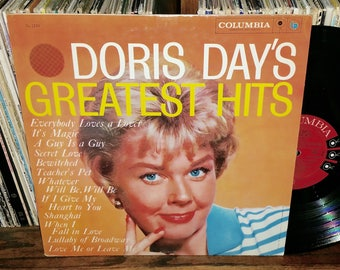 Doris Day Greatest Hits Vintage Vinyl Record