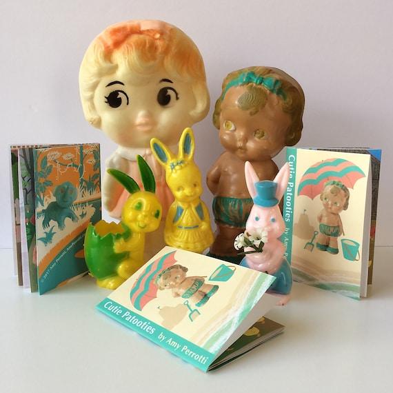 Cutie Patooties Mini Zine, Mini Book, DIY Printable File