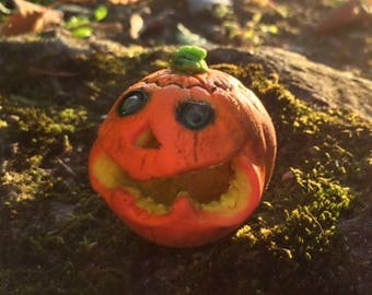 Miniature Pumpkin, Funny Jack-o'-lantern, jack o'lantern, Carved Pumpkins, Halloween Decor, Party Decorations
