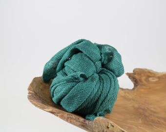 Green Newborn Wrap Photo Props, Stretch Knit Baby Wrap, Newborn Boy Props, New Baby Swaddle Blanket, Photography Props, AUSTRALIA Lux