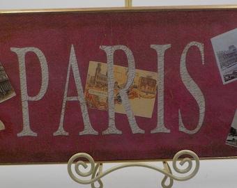 Paris Apt Chic - Wall Hanging - Wall Decor - Home Decor - 1989 Era - Great Condition