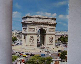 Vintage souvenir photo booklet from Paris, 1960s