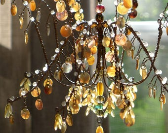 Shells, a Sunshower Chandelier