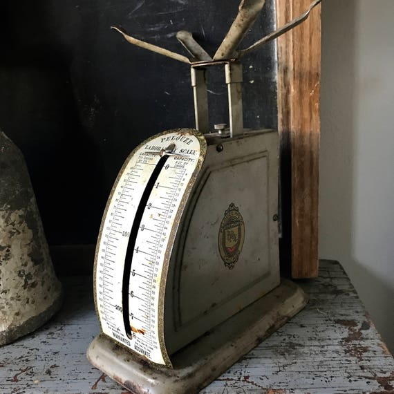 Scale, Antique Scale, Postage Scale, Industrial Kitchen.