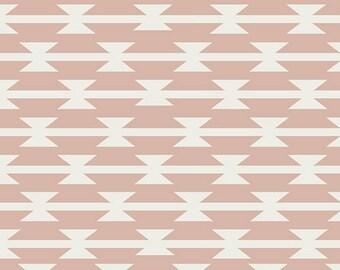 Arizona After Tomahawk Stripe in Blush Art Gallery Fabric Choose your cut