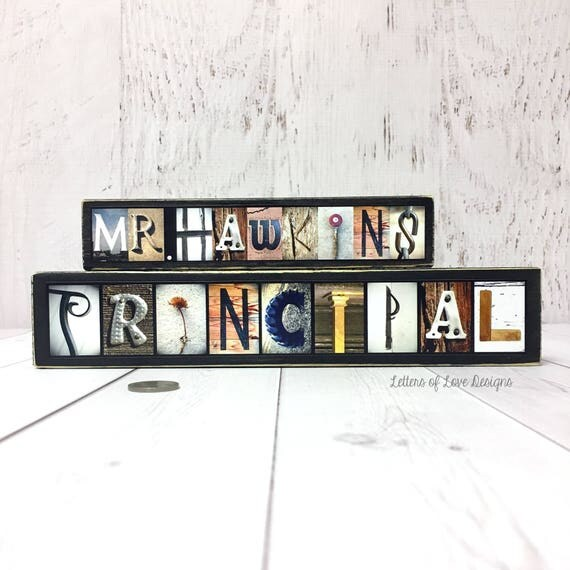 Principal Gift Assistant Principal Gift Sign Gifts for