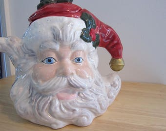 Santa tea pot