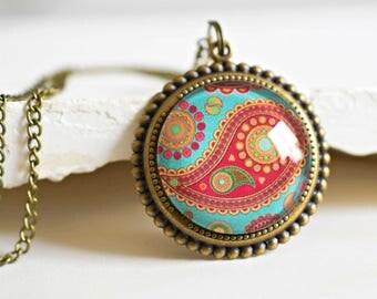 Journey of Senses II Bronze Necklace