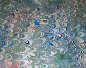 marbled paper, carta marmorizzata, decorative papers,. cm 35x50, -  5911