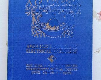 1928 Boston A Guide Book