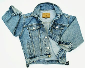 Vintage denim jacket | Etsy