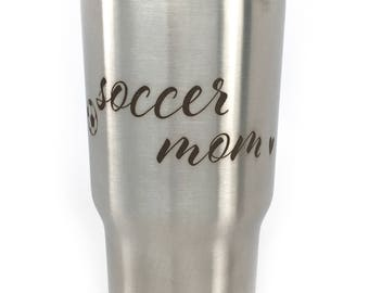 Soccer Mom Tumbler Mom Of Boys Mothers Day For Mom For Her Best Mom Ever Mama Blessed Mom Lucky Mom Mom Life 20 oz Tumbler Gift For Mom