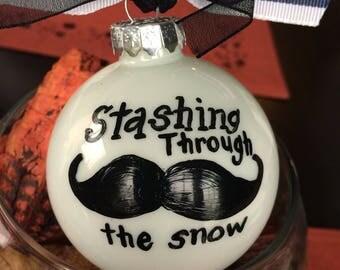 Stashing through the snow