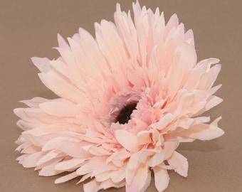 Creamy Antique Pink Spider Daisy - Artificial Flowers, Silk Flower Heads