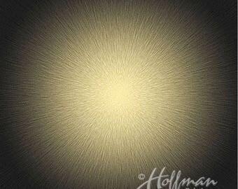 "Hoffman - SuperNova - Burst - Topaz - Digitally Printed 42"" Square Panel - Fabric by the Panel P4287-238"