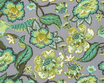 Tula Pink for Free Spirit - Chipper - Chipmunk - Mint - Fabric by the Yard PWTP078-MINT