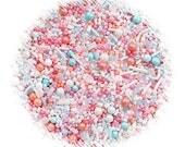 Sprinklefetti Sprinkles Mix, Little Darling Sprinkles, Edible Sprinkles, Pink Sprinkles, Pastel Sprinkles, Coral Sprinkles, Aqua Sprinkles