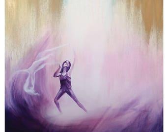 A3 art print Dancing in the Glory