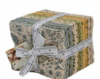 Garden Notes Fat Quarter Bundle by Kathy Schmidt for Moda - quilt fabric