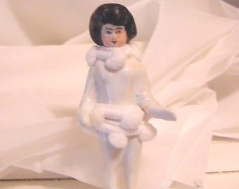 Frozen Charlotte China Doll - 3.5 Inches Tall