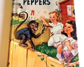 Vintage Five Little Peppers and How They Grew Margaret Sidney Hardcover
