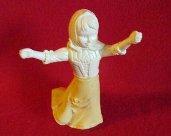 Avon Cologne Bottle - Peasant Girl with Outstretched Arms